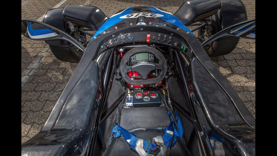 Formel Ford, Cockpit