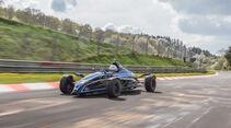 Formel Ford, Frontansicht, Rennstrecke