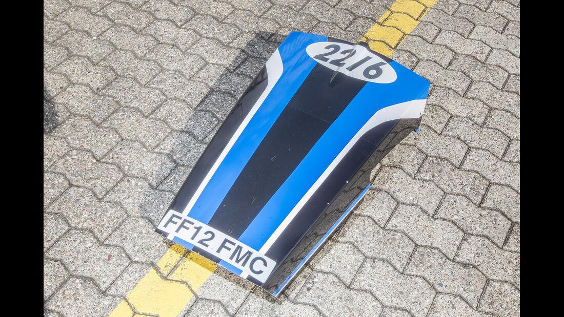 Formel Ford, Motorabdeckung