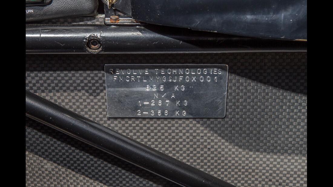 Formel Ford, Plakette