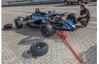 Formel Ford, Radwechsel