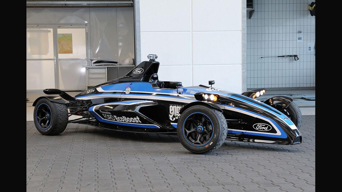 Formel Ford Rennfahrzeug mit 1,0-Liter EcoBoost-Motor Nürburgring-Rekord