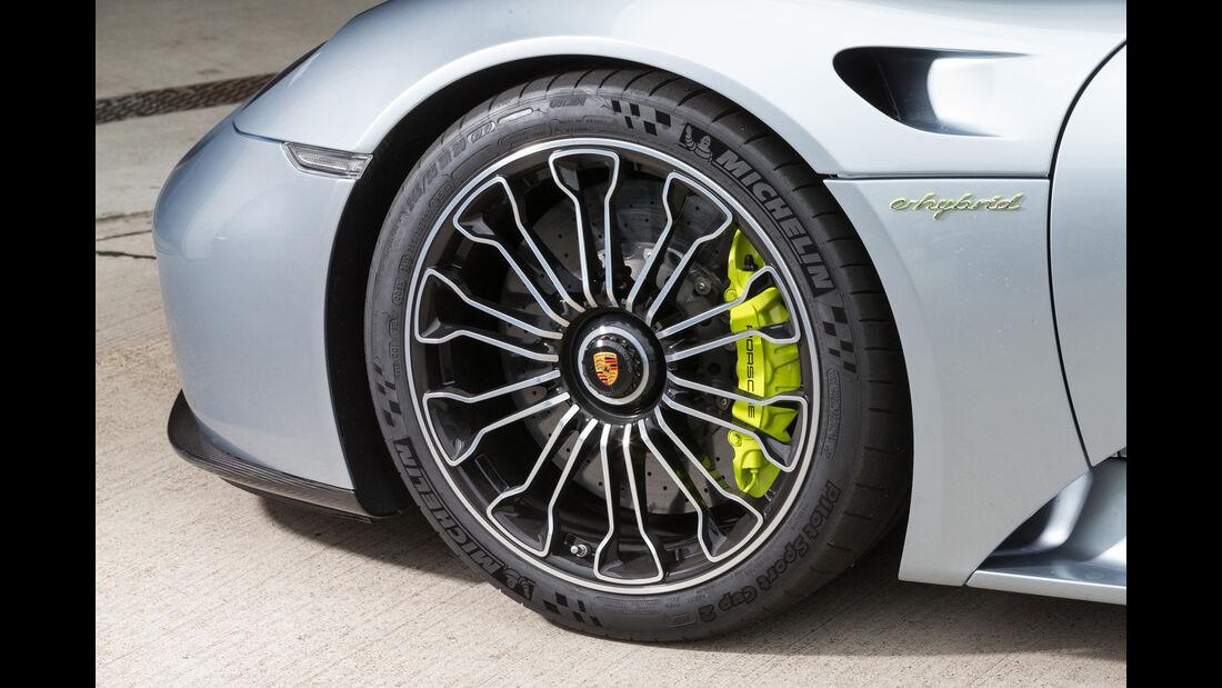 Formel Student, Porsche 918 Spyder, Impression, Beschleunigungsduell