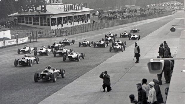 Formel V - Start - Eifelrennen 1967 - Nürburgring - Südschleife