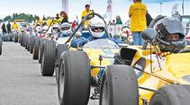 Formel Vau, Fahrerfeld