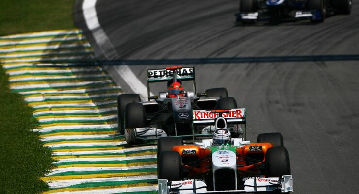 Formula 1 Grand Prix, Brazil, Sunday Race
