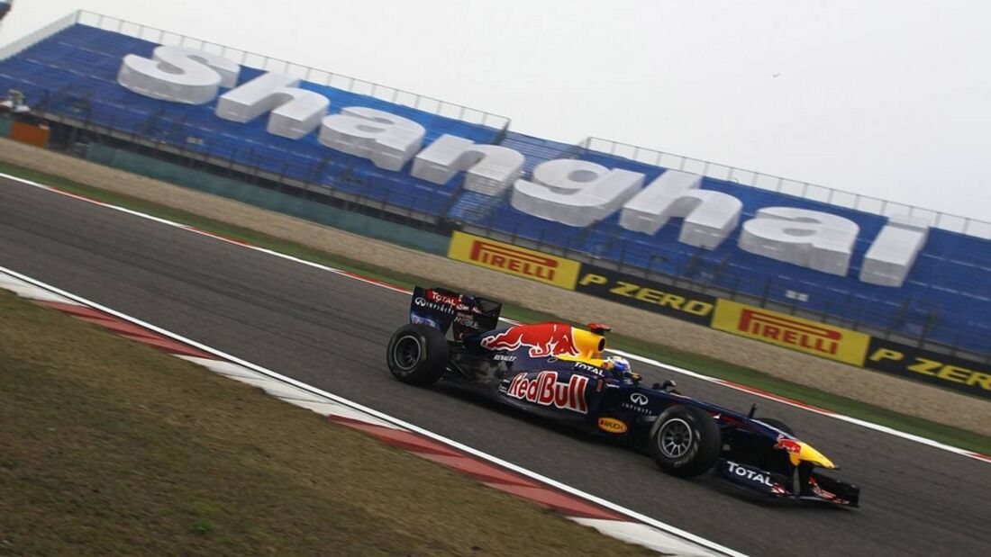 Formula 1 Grand Prix, China, Friday Practice