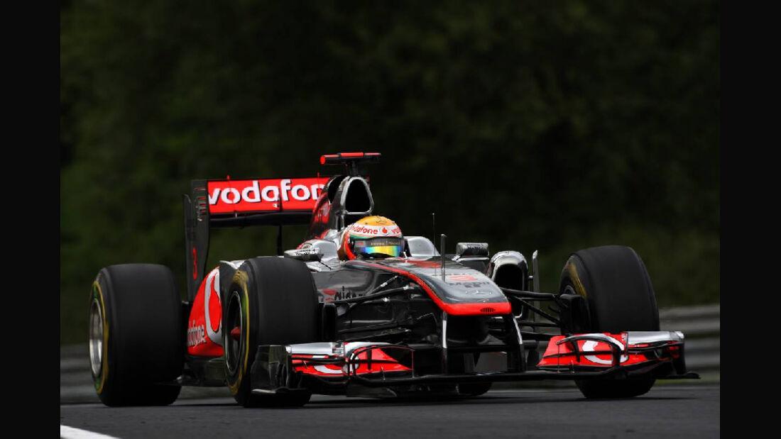 Formula 1 Grand Prix, Hungary, Friday Practice