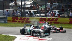 Formula 1 Grand Prix, Italy, Sunday Race