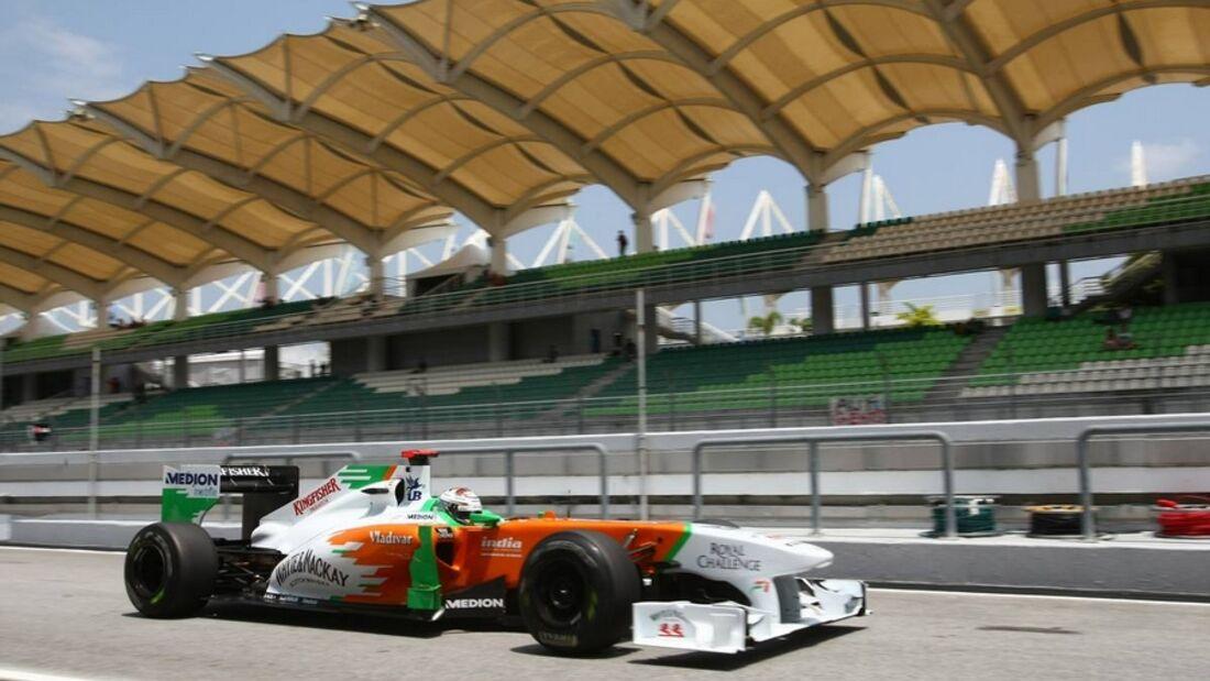 Formula 1 Grand Prix, Malaysia, Friday Practice
