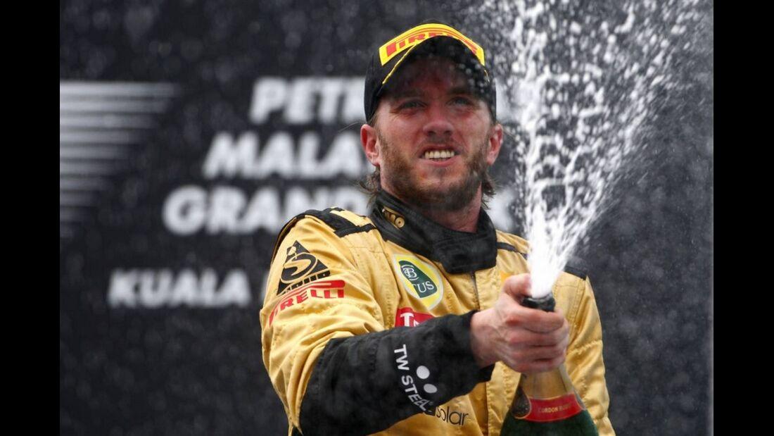 Formula 1 Grand Prix, Malaysia, Sunday Podium