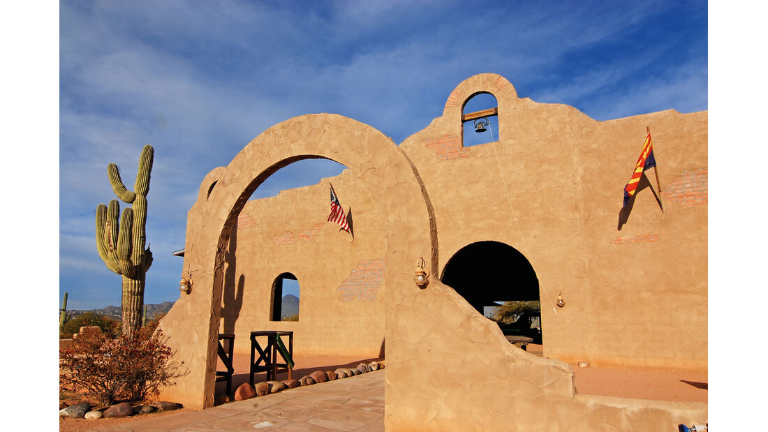Fort, Adobe-Baustil