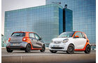 Fortwo Coupé 1.0, Forfour 1.0