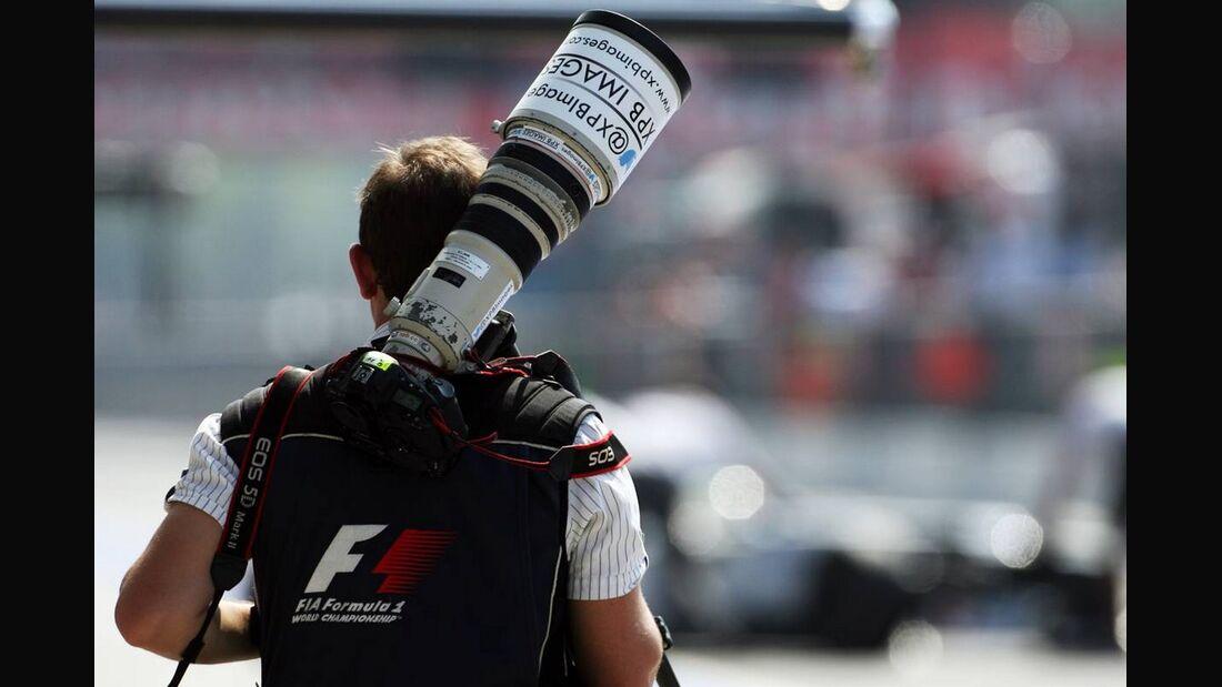 Fotograf - Formel 1 - GP Italien - 07. September 2012