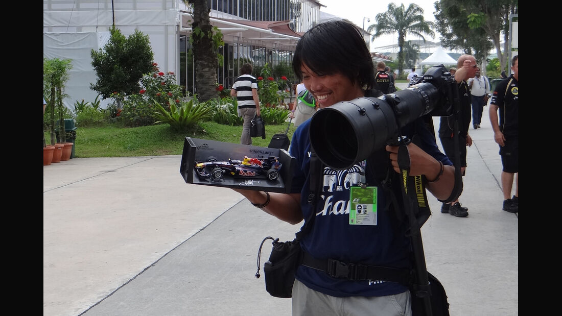 Fotograf - GP Malaysia - 22. März 2012