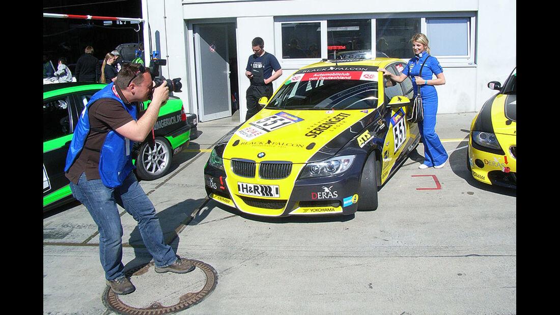 Fotograf, VLN, Girls, Rennwagen, Nürburgring