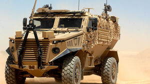 Foxhound Patrol Vehicle in Afghanistan