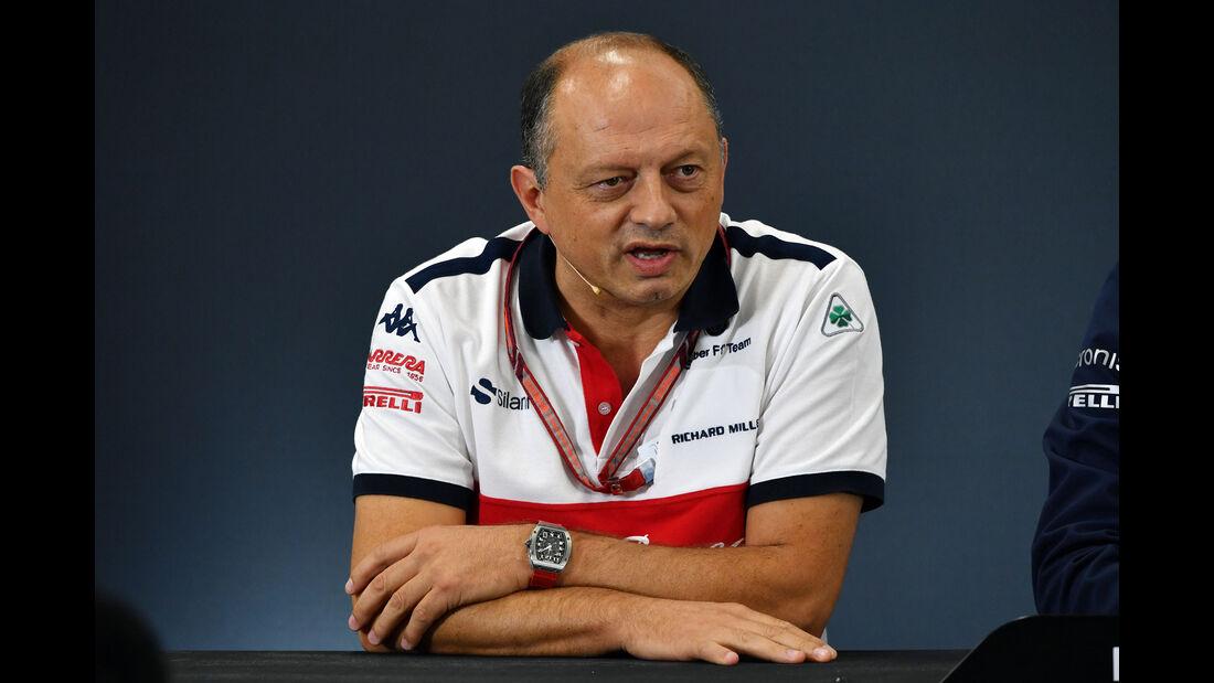 Frédéric Vasseur - Sauber - GP Japan - Suzuka - Formel 1 - Freitag - 5.10.2018