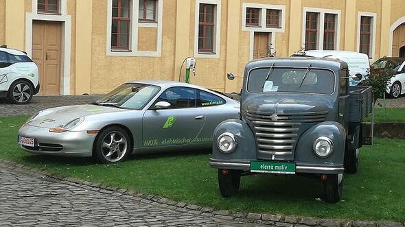Framo Pritschenwagen Elerra