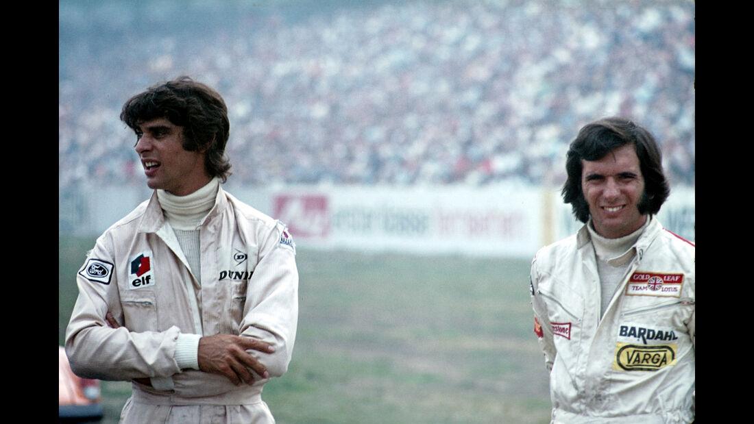 Francois Cevert & Emerson Fittipaldi - F1 GP Deutschland 1970 - Hockenheimring