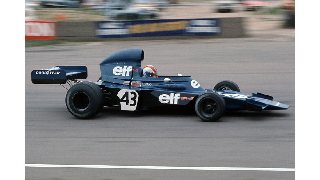 Francois Cevert Tyrrell 006 Ford