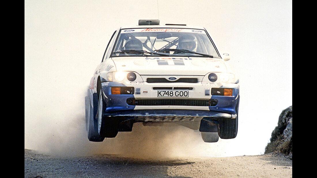 Francois Delecour, Rallye Portugal 1993, Rallye-Sprünge