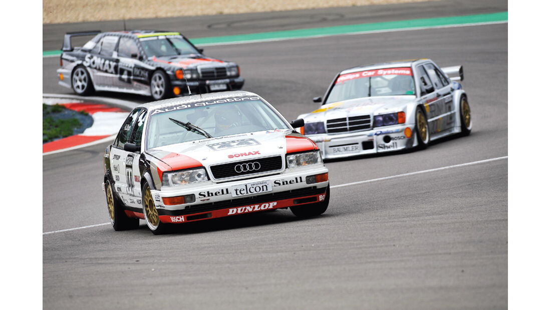 Frank Biela, Audi V8