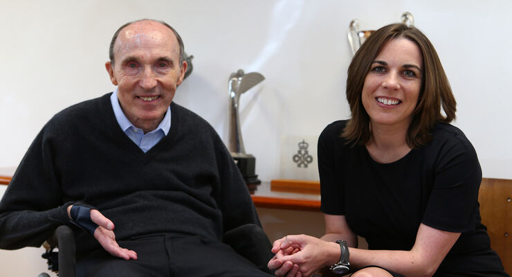 Frank & Claire Williams - Formel 1 - 2013