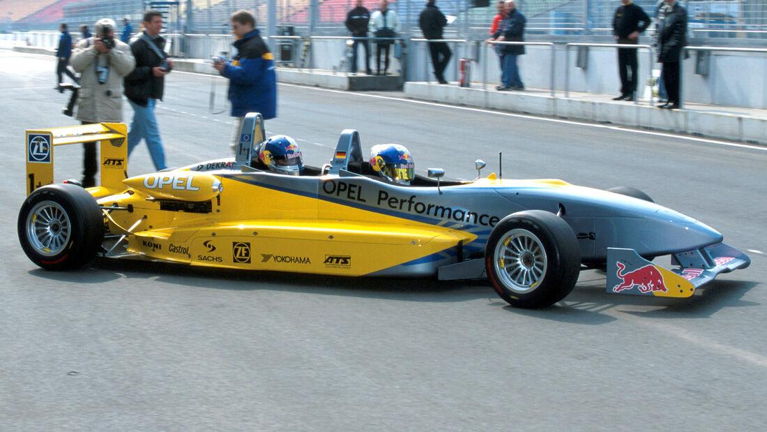 Frank Diefenbacher - Opel Formel 3 - 2-Sitzer - 2002