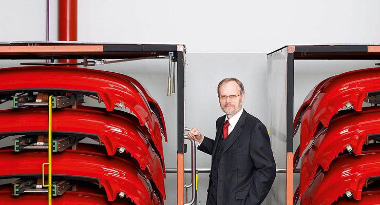 Frank Dreves Mitglied des Vorstands der AUDI AG, Gesch�ftsbereich Produktion