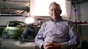 Frank M. Rinderknecht, Gründer und CEO der Rinspeed AG
