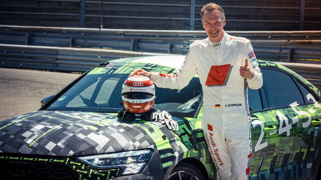 Frank Stippler, Audi RS3 bei der Nordschleifen-Rekordfahrt