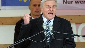 Frank-Walter Steinmeier, Opel, Rettung, Rede