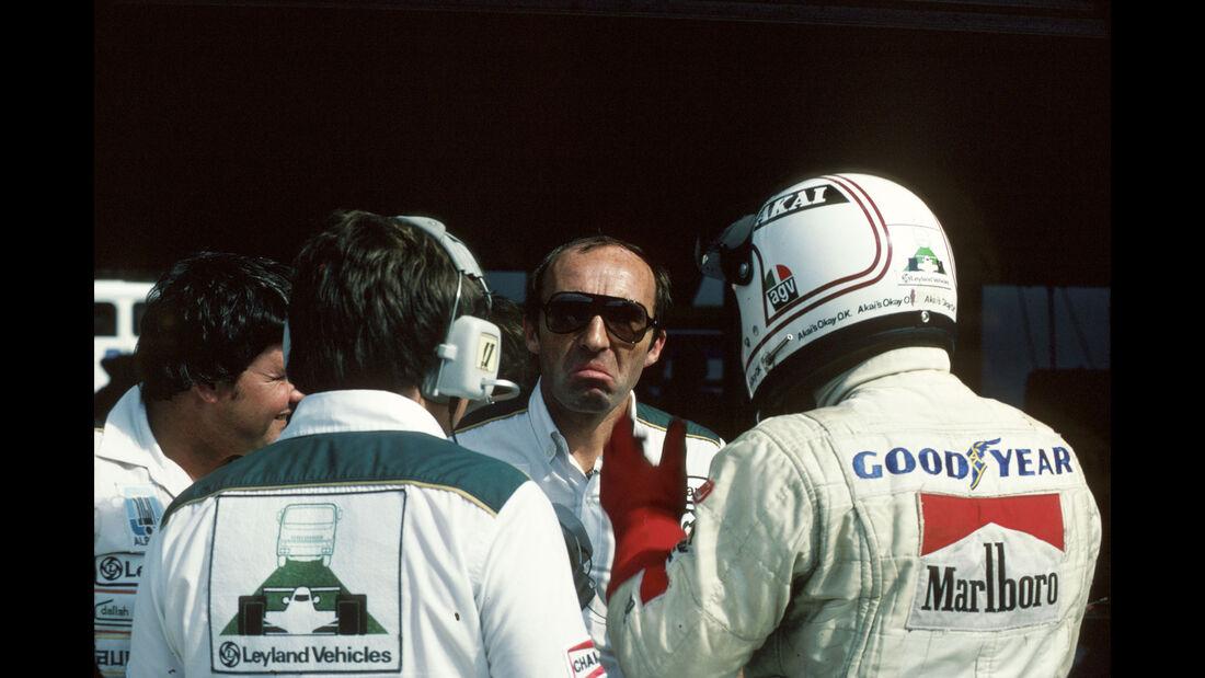 Frank Williams - Alan Jones - GP Spanien 1980 - Jarama, 01.06.1980