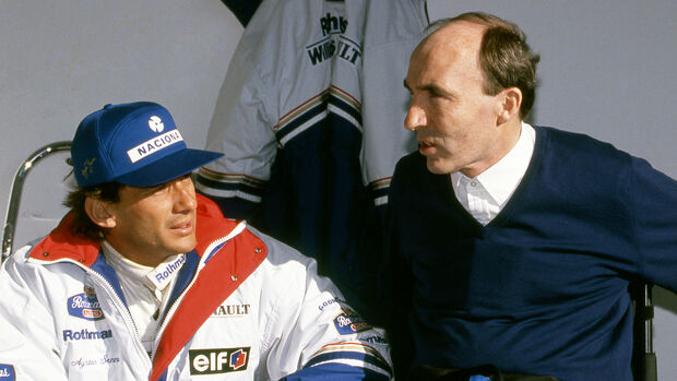 Frank Williams - Ayrton Senna - Formel 1 - 1994
