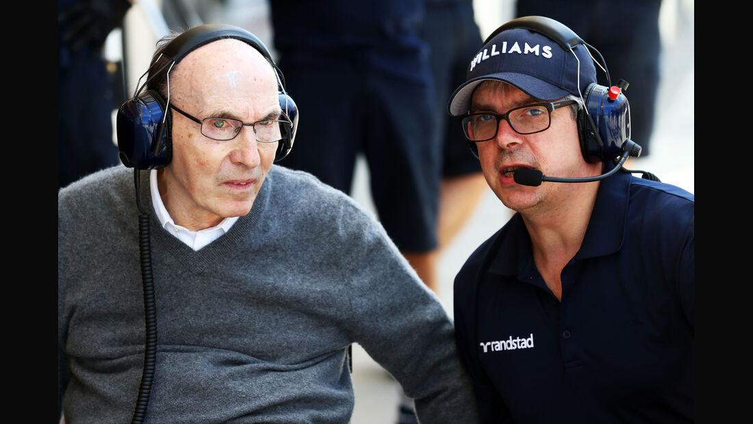 Frank Williams - Formel 1 - Bahrain - Test - 2. März 2014
