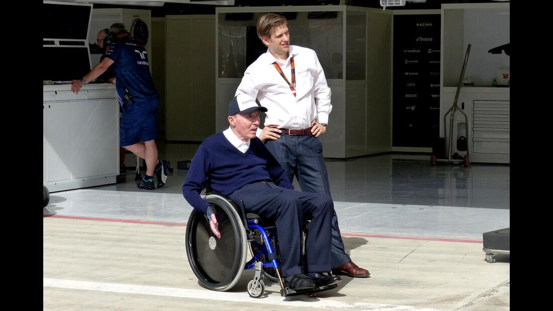Frank Williams - Formel 1 - GP Bahrain - 16. April 2015