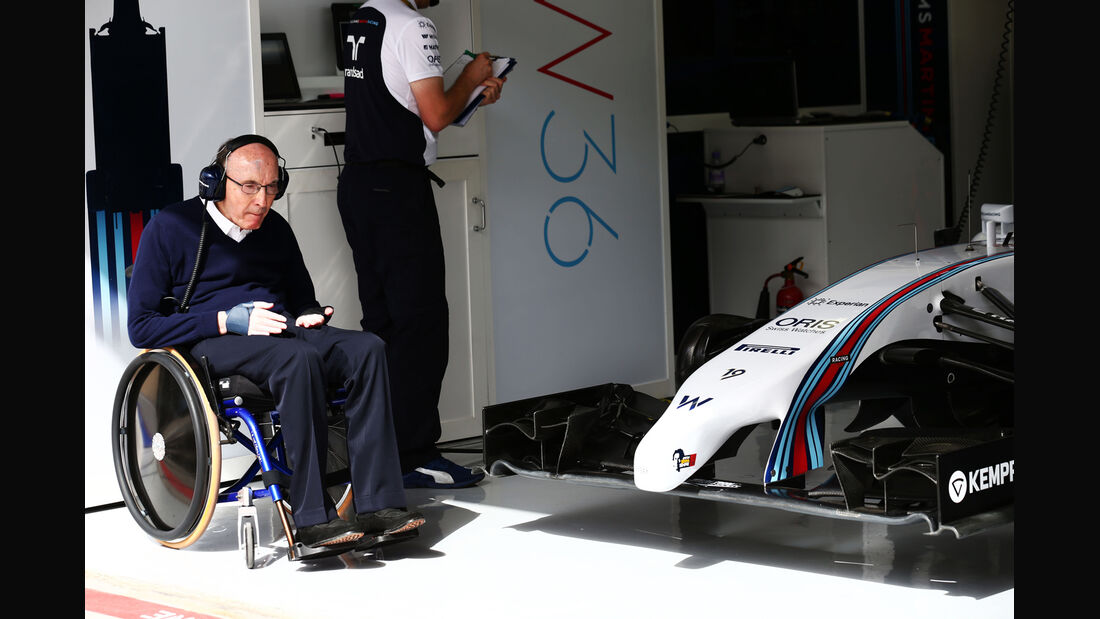 Frank Williams - Formel 1 - GP Bahrain - Sakhir - 4. April 2014