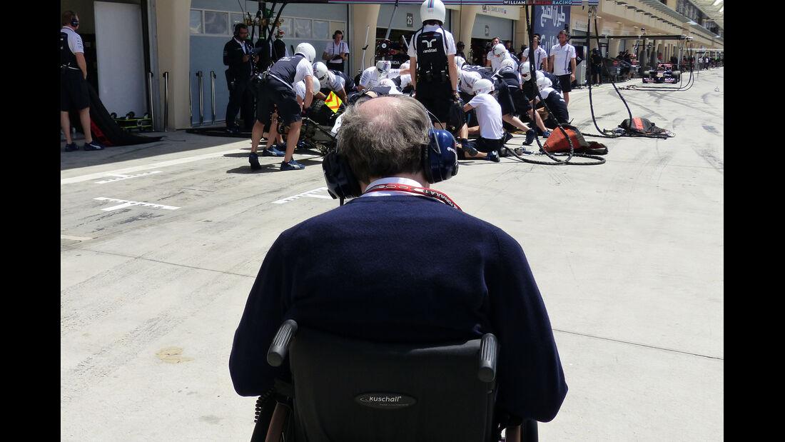 Frank Williams - Formel 1 - GP Bahrain - Sakhir - 5. April 2014