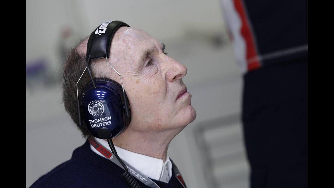 Frank Williams - Formel 1 - GP Deutschland - 21. Juli 2012