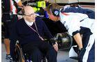 Frank Williams - Formel 1 - GP Italien - 08. September 2012