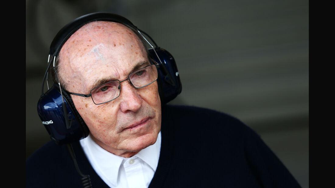 Frank Williams - Formel 1 - GP Österreich - Spielberg - 20. Juni 2014