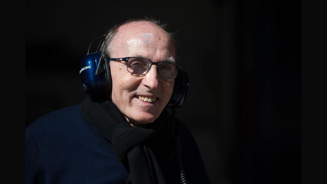 Frank Williams - Formel 1-Test - Barcelona - 22. Februar 2015