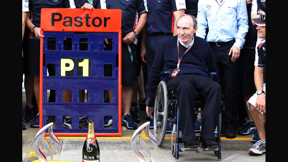 Frank Williams GP Spanien 2012