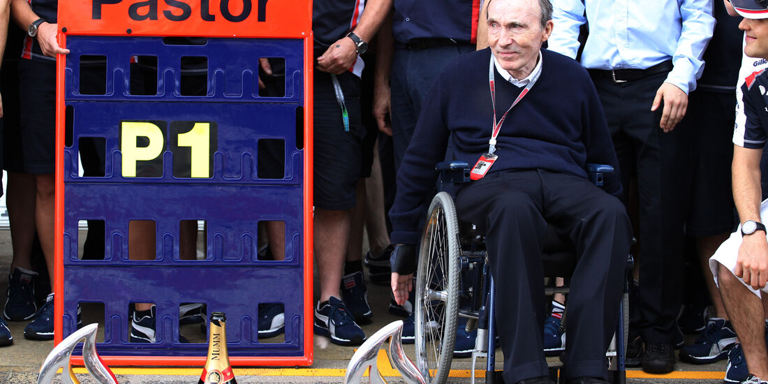 Frank Williams GP Spanien 2012