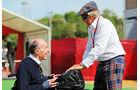 Frank Williams - Jackie Steward - GP Spanien 2015 - Rennen - Sonntag - 10.5.2015