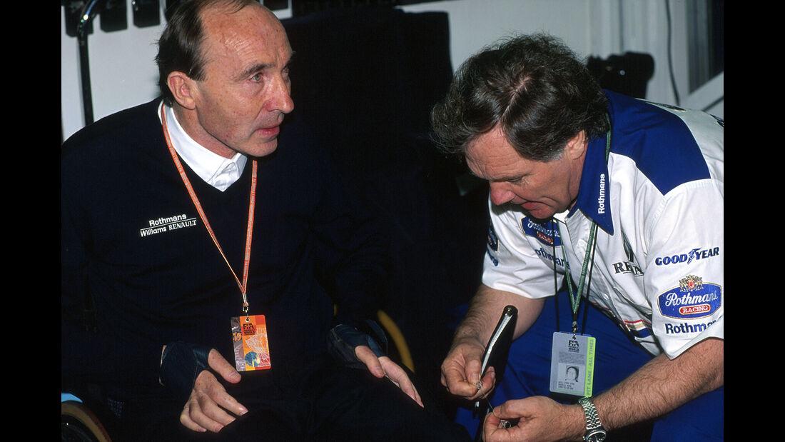 Frank Williams - Patrick Head - Williams - GP San Marino 1994 - Imola