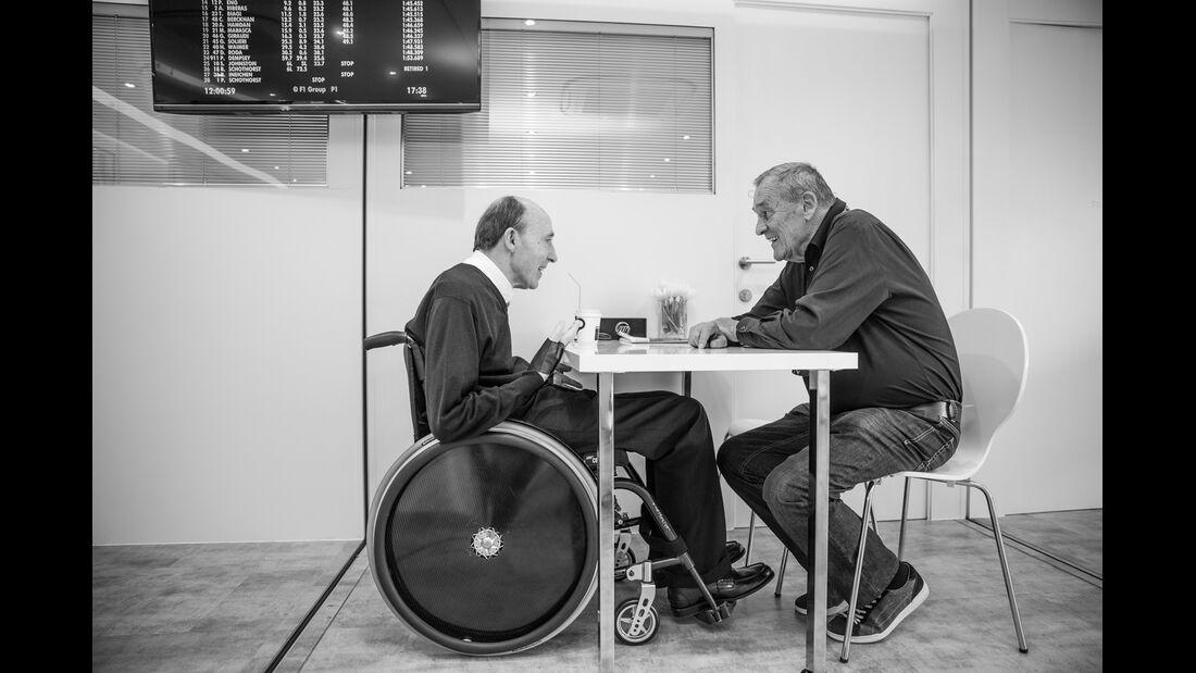 Frank Williams & Paul Rosche - GP Deutschland 2014 - Danis Bilderkiste