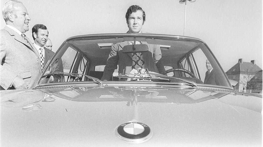 Franz Beckenbauer, BMW Automatik 3,0 S