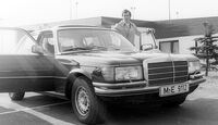 Franz Beckenbauer, Mercedes S-Klasse W116